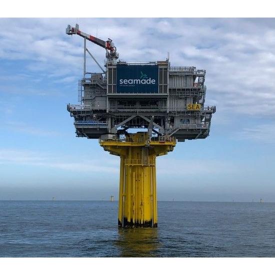 Succesvolle installatie van twee offshore substations is belangrijke mijlpaal voor offshore windmolenpark SeaMade