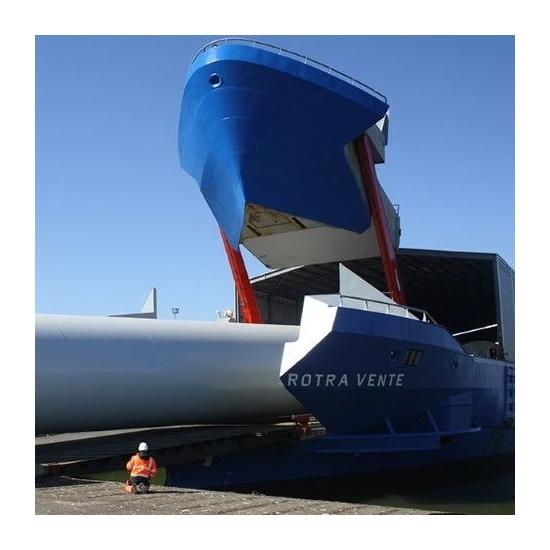 Ostende (BE) | SEAMADE NV annonce l'arrivée des 2 premières tours pour SeaMade OWF dans le port d'Ostende